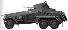 SdKfz 231 6 Rad | SdKfz 231/232 och 263 6-Rad