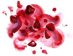 MintysTable Strawberry Miso Ice Cream - Lauren Monaco