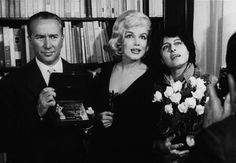Anna Magnani & Marilyn Monroe