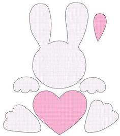 DIY Ostern Aktivitäten amp Dekoration The best age-old Easter time presents, as Bunny Crafts, Felt Crafts, Diy And Crafts, Paper Crafts, Easter Projects, Easter Crafts For Kids, Easter Gift, Easter Bunny, Felt Bunny