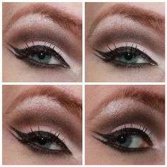 Double wings and a cut-crease...when you want to look like a mod flapper.