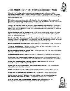 """William Faulkner's """"Barn Burning"""" Quiz (w/ Answer Key ..."""