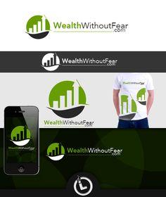Logo for WealthWithoutFear Logo Branding, Logos, Logo