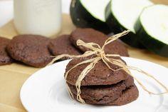 Potrójnie czekoladowe ciastka z cukinią