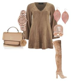 """""""Wednesday"""" by nzikop on Polyvore featuring MINKPINK, Gianvito Rossi, River Island, Humble Chic and Swatch"""