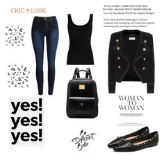 """@chiclookclo set"" by sabypolivore ❤ liked on Polyvore featuring Twenty, Yves Saint Laurent and Nika"
