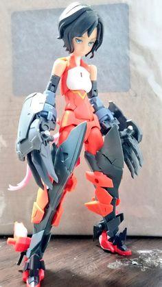 Twitter Frame Arms Girl, Little Giants, Model Kits, Manga Anime, Robot, Action Figures, Character Design, Doll, Statue
