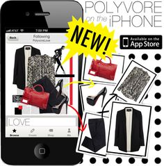 """""""NEW: Polyvore iPhone App!"""" by justsweet on Polyvore"""