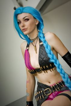 Anime Expo 2015: Jinx (League of Legends)