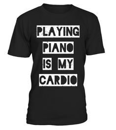 "# Playing Piano is my Cardio T-Shirt | funny pianist musician .  Special Offer, not available in shops      Comes in a variety of styles and colours      Buy yours now before it is too late!      Secured payment via Visa / Mastercard / Amex / PayPal      How to place an order            Choose the model from the drop-down menu      Click on ""Buy it now""      Choose the size and the quantity      Add your delivery address and bank details      And that's it!      Tags: Some people go running…"