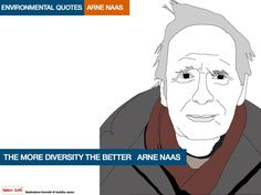 ARNE-NAAS environmental quotes. Illustrations Kenneth buddha Jeans