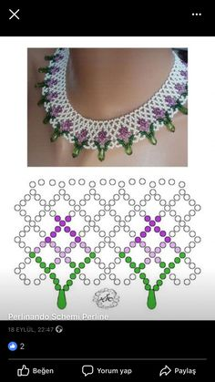 Halskæde Beaded Jewelry Designs, Seed Bead Jewelry, Beading Patterns Free, Beading Tutorials, Beaded Earrings, Beaded Bracelets, Necklaces, Diy Necklace Patterns, Beaded Ornaments