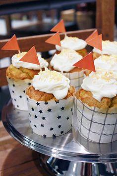 pumpkin cup cakes at Moko Market & Café