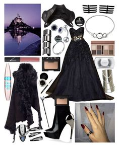 """""""Untitled #255"""" by jade-bellex ❤ liked on Polyvore featuring MAC Cosmetics, Giuseppe Zanotti, Forever 21, NLY Accessories, Majesty Black, Zuhair Murad, Ann Demeulemeester, Gareth Pugh, Nouba and NARS Cosmetics"""