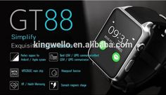Hot Model Gt88 Smart Watch Sim Card Smart Watch - Buy Gt88 Smart Watch,Sim Card Gt88,Gt88 Sim Card Smart Watch Product on Alibaba.com
