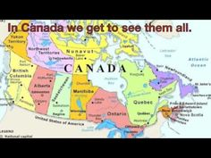 Map of Canada. Map of Canada. Canadian Symbols, Canadian History, Canadian Culture, Canadian Coins, Teaching Social Studies, Teaching Tools, Teaching Kids, All About Canada, Teaching Geography