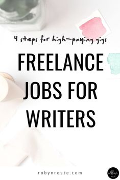 So you've decided to look for freelance jobs and you hope it will be for writing. While much of my advice is relevant to writers who are already freelancing or entrepreneurs who need to use content marketing to advance their business, I know many people also wonder how on earth they could get paid to write. Online Writing Jobs, Freelance Writing Jobs, Online Jobs, Writing Process, Writing Tips, Make Money Writing, Earn More Money, Writing Inspiration, Writers