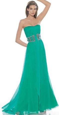 SE LA MÁS BELLA: Vestidos verdes