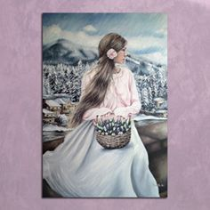 Tiepido inverno - olio su tela 60x90