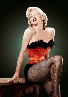 Marilyn Monroe #pinup #photography #vintage bombshellcreative.com