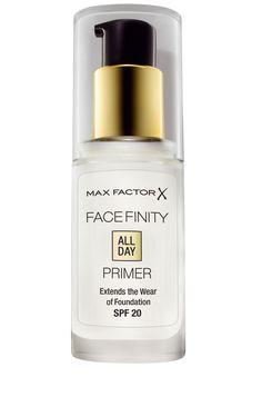 Facefinity All Day Primer, de Max Factor...glamour españa