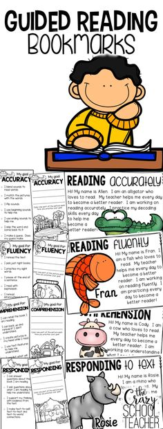 Fun & Engaging way to set and track goals for your students during guided reading.