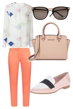 """""""Work wear 3"""" by xeebae on Polyvore featuring Equipment, Weekend Max Mara, Kate Spade, Michael Kors and Ted Baker"""