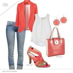 Un outfit casual para el día a día, lucirás radiante y fresca
