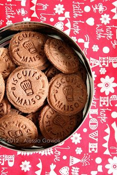 Ciobar biscuits maison by **Alessia**, via Flickr
