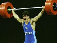 Pyrros Dimas,1971-, a retired #Greek weightlifter, considered as one of the greatest of all time, having been three times #Olympic champion and three times World Champion.