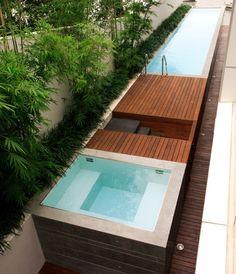 Compact pool design