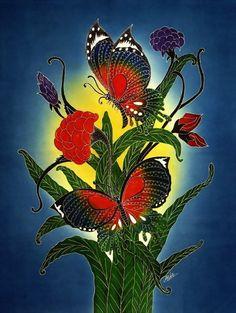 www.indonesian-batik.com Art Deco Artists, List Of Artists, Artist Painting, Asia, Ebay