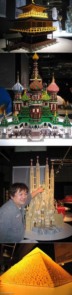 Lego Landmarks #lego #legoarchitecture #pyramid