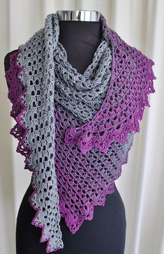 Ravelry: Rainbow Wave Shawl pattern by Kaye Adolphson