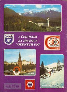 Cestujte s Čedokom Nostalgia, Mountains, Retro, Nature, How To Make, Iron, Travel, Holidays, Catalog
