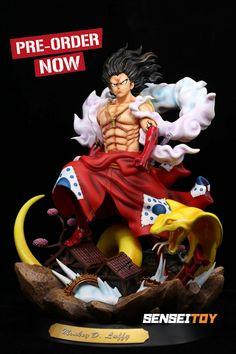 Luffy Gear 5, One Piece Figuras, Action Figure One Piece, Necron, One Piece World, Anime Figurines, Figure Model, Japan Travel, Amazing Art