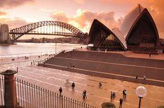 Sydney Opera House & Harbour Bridge by Keith McInnes Photography, via Flickr