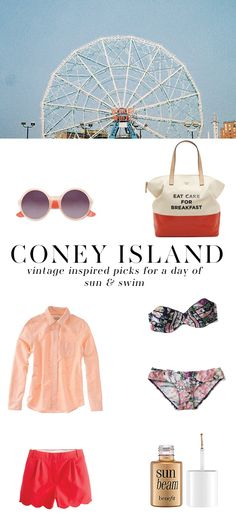 coney island vintage inspired fashion