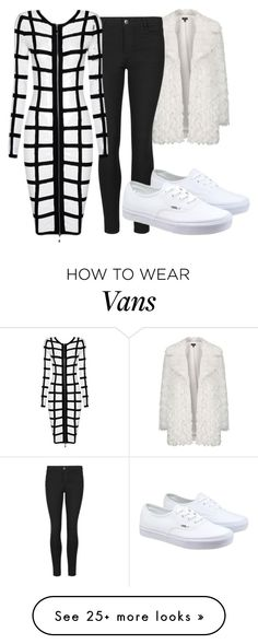 """""""Tricky Trend: Dress and Pants"""" by iouzzani on Polyvore featuring moda, Topshop, Indigo Collection, Posh Girl, Vans y TrickyTrend"""