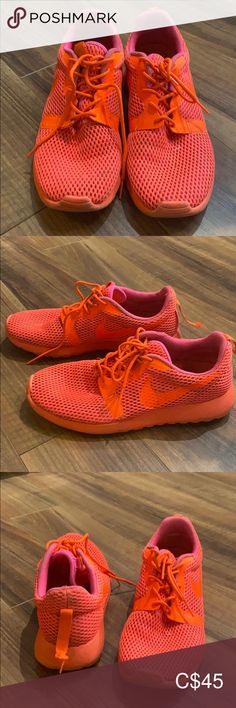 Neon orange Nike runners Neon green Nike runner with minor damage in the back of the right shoe Nike Shoes Athletic Shoes Nike Runners, Plus Fashion, Fashion Tips, Fashion Trends, Neon Green, Orange Color, Nike Shoes, Athletic Shoes, Nike Women