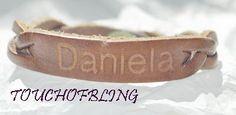 DANIELA+Custom+Leather+Bracelet+by+Treaty+Leather