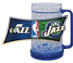 Utah Jazz Freezer Mug