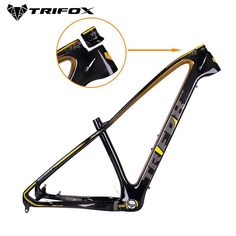 TRIFOX Carbon Mountain Bike Frame mtb MTB carbon bicycle frame Mountain Bike Frame used for racing bike cycling-in Bicycle Frame from Sports & Entertainment 29er Mountain Bikes, Mountain Biking, Mountain Bicycle, Mountain Bike Frames, Mtb Bicycle, Road Bike Women, Racing Bike, Entertainment, Cycling Bikes