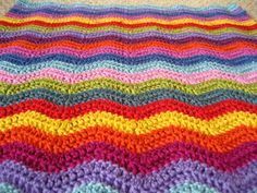 Ripple blanket w tutorial