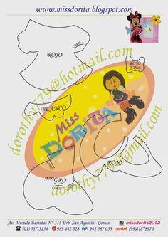 Miss Dorita: Portafoto Minnie