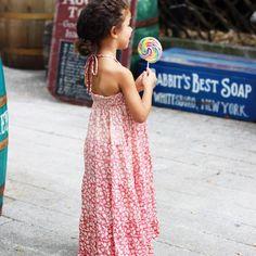 Summer kid's dress