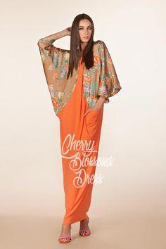 Caftan/ Maxi Dress/ Kaftan/ Abaya/ Elegant dress/ Long sleeve
