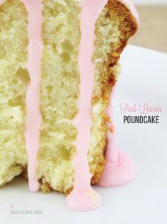 Pink Lemon Poundcake recipe