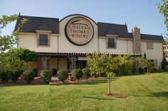 Chateau Thomas Winery - Plainfield, IN with tasting rooms in Fishers Indiana and Nashville Indiana. Worth the trip for great wines.