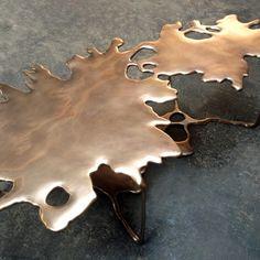 Metal Coffee Table by STEFAN BISHOP